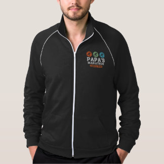 Papa's marathon cheer team jacket