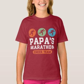 Papa's marathon cheer team T-Shirt
