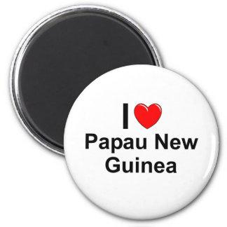 Papau New Guinea Magnet