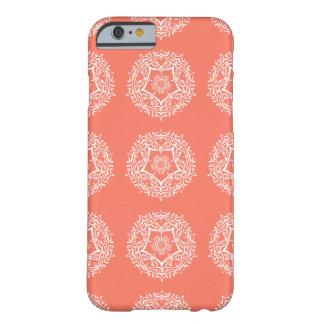 Papaya Mandala Barely There iPhone 6 Case