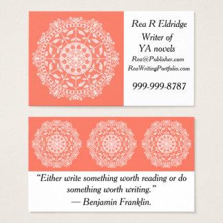 Papaya Mandala Business Card