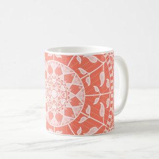 Papaya Mandala Coffee Mug