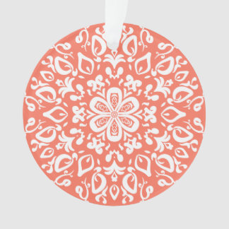 Papaya Mandala Ornament