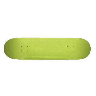 paper073 PAPER LIME GREEN TEXTURED  PATTERN TEMPLA 19.7 Cm Skateboard Deck
