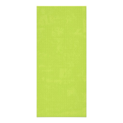 paper073 PAPER LIME GREEN TEXTURED  PATTERN TEMPLA Personalized Rack Card