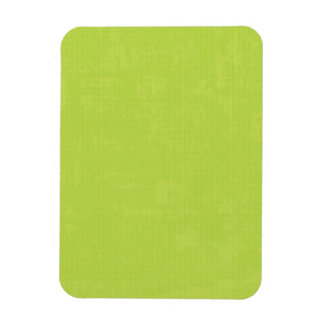 paper073 PAPER LIME GREEN TEXTURED  PATTERN TEMPLA Rectangular Photo Magnet