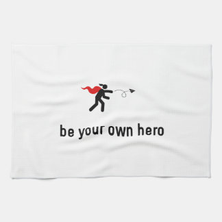 Paper Airplane Hero Kitchen Towels