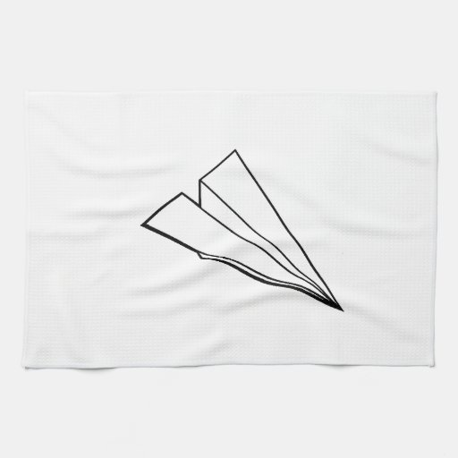 Paper Airplane Hand Towel