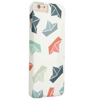 Paper Boat Pattern iPhone 6/6s Plus Case