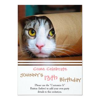 Paper cat - funny cats - cat meme - crazy cat card