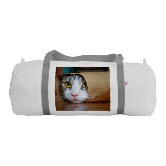 Paper cat - funny cats - cat meme - crazy cat gym bag