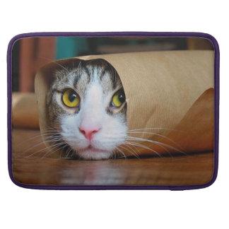 Paper cat - funny cats - cat meme - crazy cat sleeve for MacBook pro