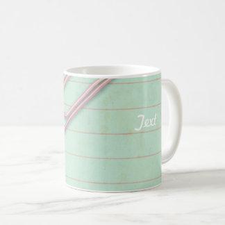 Paper clip coffee mug