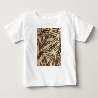 Paper Clips For The Paper Person Baby T-Shirt