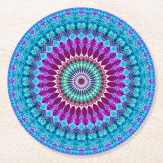 Paper Coaster Geometric Mandala G382