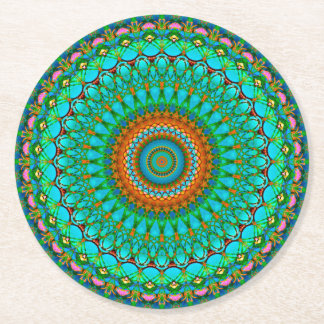 Paper Coaster Geometric Mandala G388
