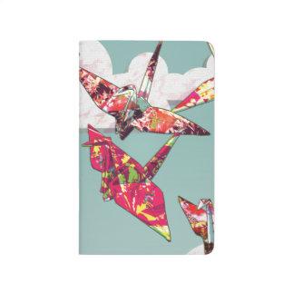 Paper Cranes Pocket Journal