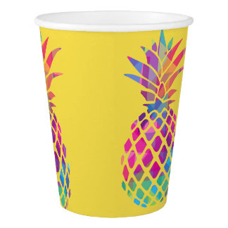 Paper Cup, 9 oz - Pineapple Cup