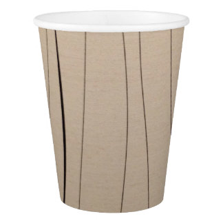 Paper Cup Beige Color