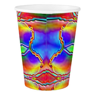 Paper Cup: Mystical Eastern Design