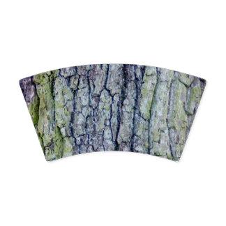 Paper Cup: Tree Bark Design
