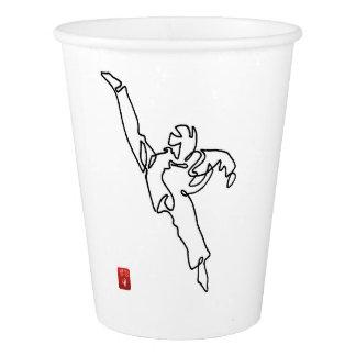 Paper cups DWICHAGI back kick