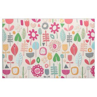 paper cut flowers peach fabric