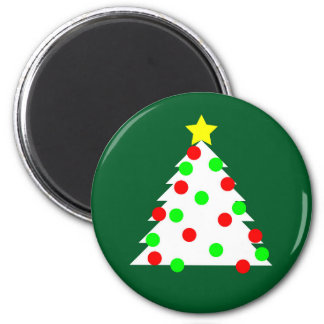 Paper Cutout Christmas Tree Magnet