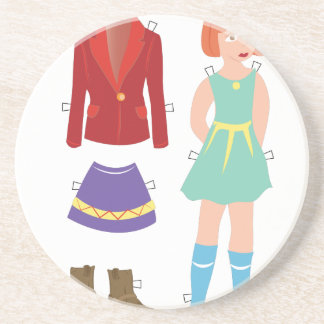 Paper Doll Coaster