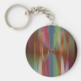 Paper Dolls Basic Round Button Key Ring