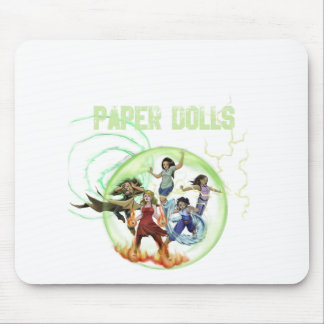 Paper Dolls Swag Mouse Pads