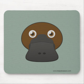 Paper Duck-Billed Platypus Mouse Pad