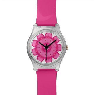Paper Flower Fractal Watch