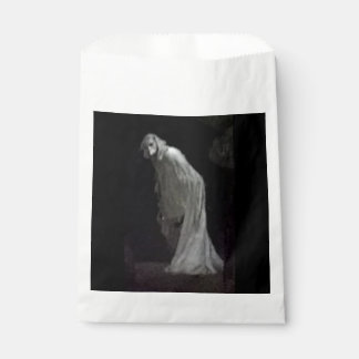 Paper gothic ghost bag