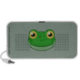 Paper Green Frog Mini Speaker