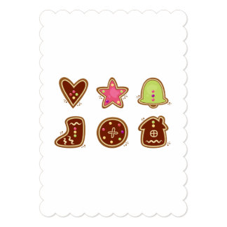 Paper greeting with Cookies Card