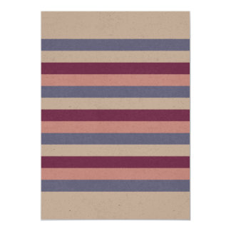Paper greeting with Stripes Card