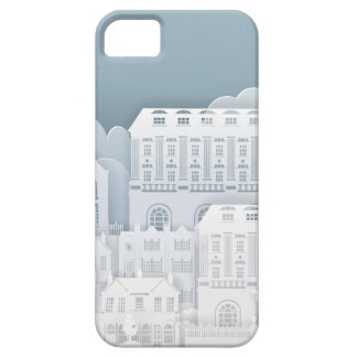 Paper Houses Row Barely There iPhone 5 Case