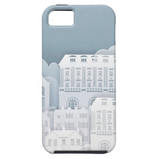 Paper Houses Row Tough iPhone 5 Case