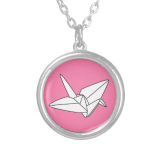 Paper Kawaii - Origami Crane Necklace
