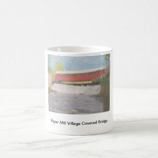 Paper Mill Village Covered Bridge Mug