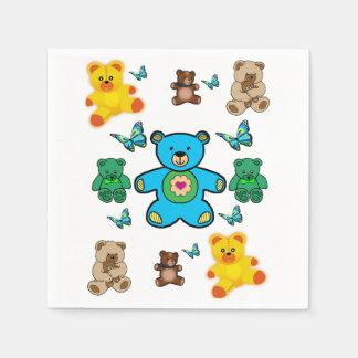 Paper Napkin teddy bears