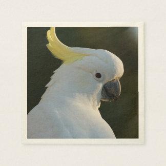 Paper-napkins cockatoo paper serviettes