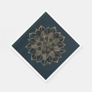 Paper Napkins Multicolor Design