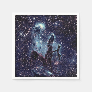 Paper Napkins Pillars of Creation Nebula