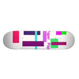 Paper Paper Skateboard Decks