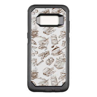 Paper pattern OtterBox commuter samsung galaxy s8 case