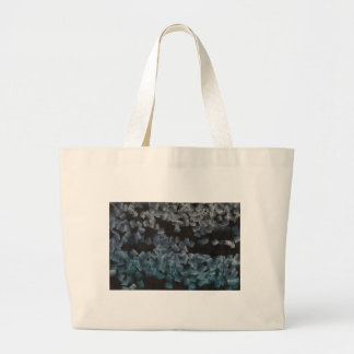 Paper pieces on the ground jumbo tote bag