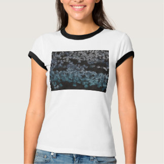 Paper pieces on the ground t shirt