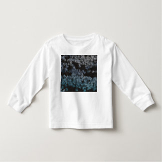 Paper pieces on the ground t shirts